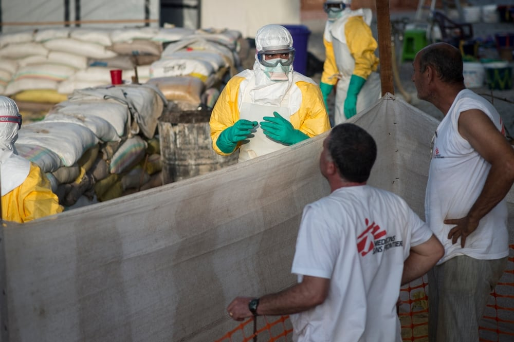 WHO confirms two cases of Ebola in Guinea