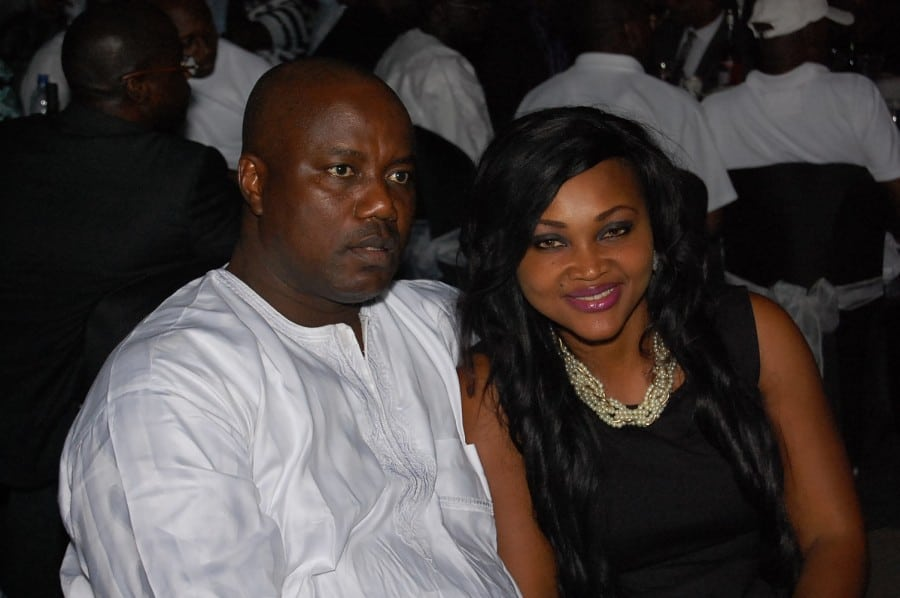 Mercy Aigbe and her husband