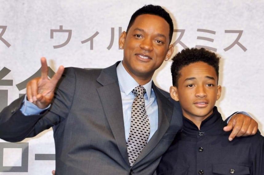 Photo of Will Smith & his  Son  Jaden Smith
