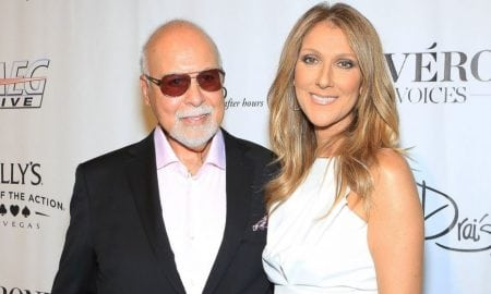 Celine Dion and her late husband Rene Angelil