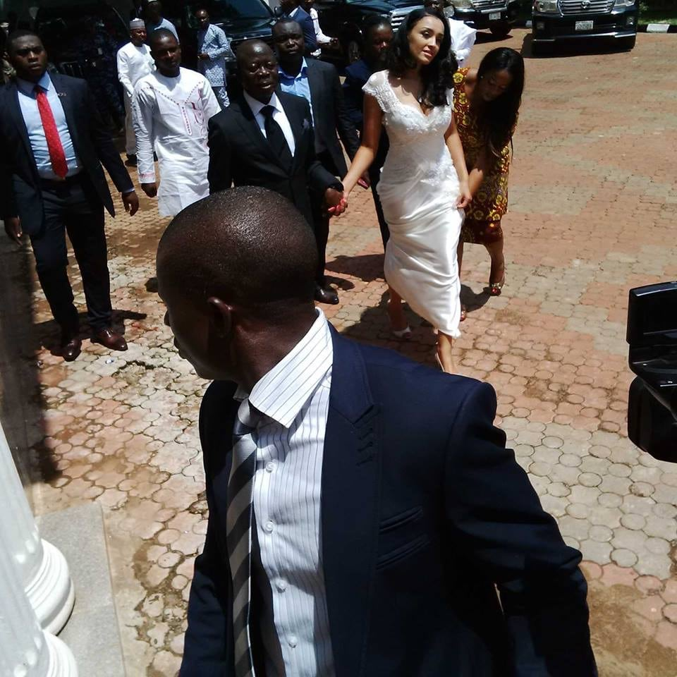 Adam Oshiomole remarried