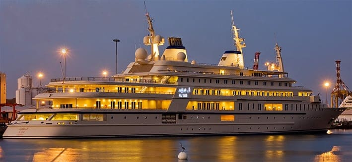 Al Said Super Yacht priced at $300 Million