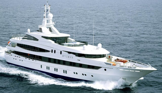 Dilbar Super Yacht = $263 million