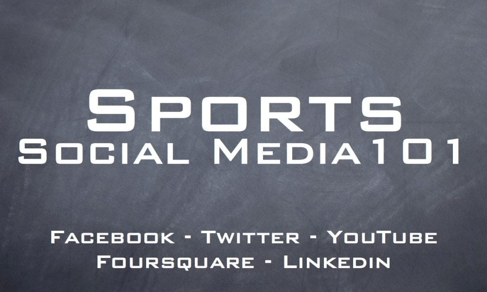 social media and sports While social media cannot be expected to be the sole solution for challenges facing the live event, sports, and venue industries, its proper use and management may be.