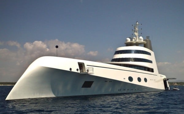 Superyacht A = $323 Million