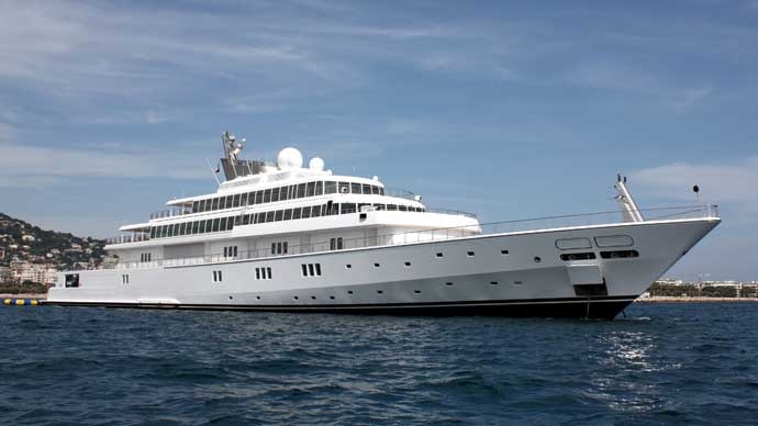 World's most expensive supper yachts