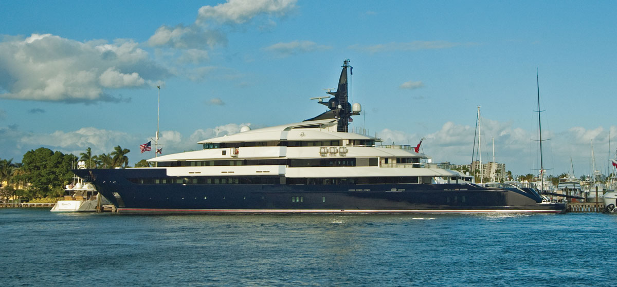 Seven Seas super yacht