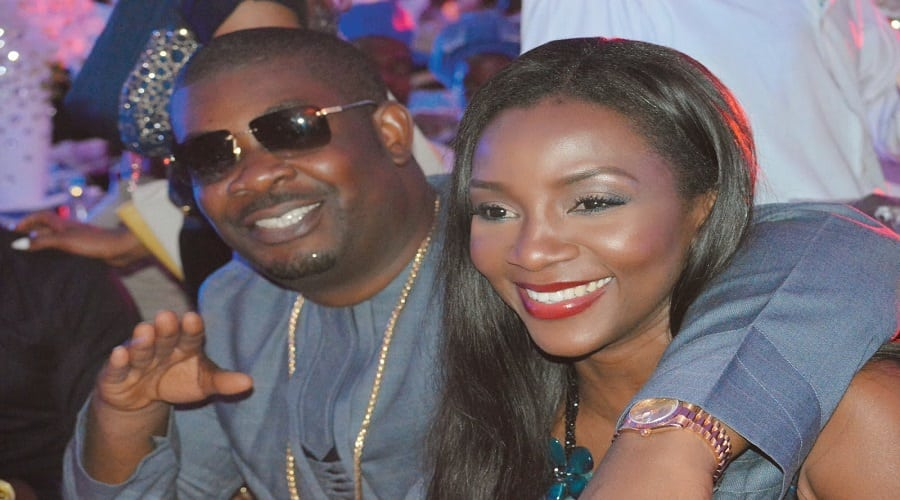 Genevieve Nnaji and Don Jazzy