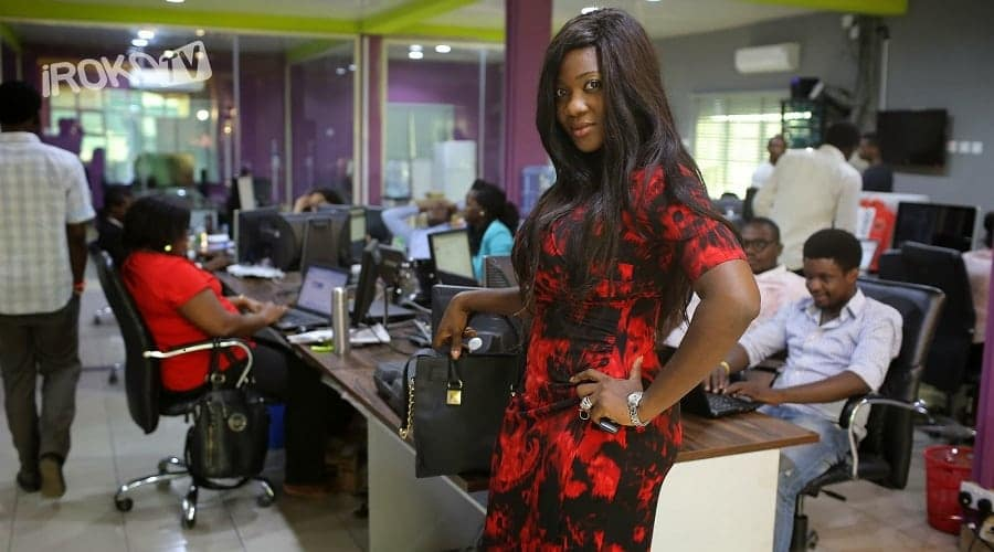 Mercy Johnson at iROKO TV