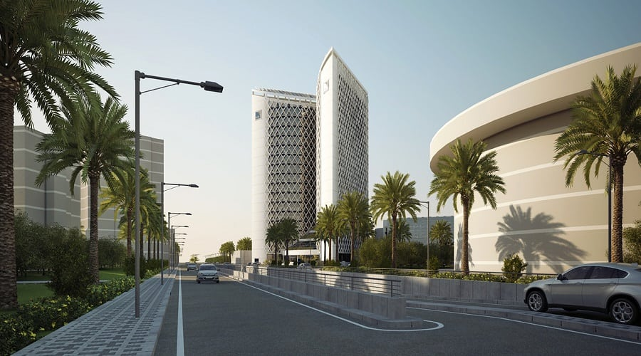 The new Algeria Gulf Bank headquarters
