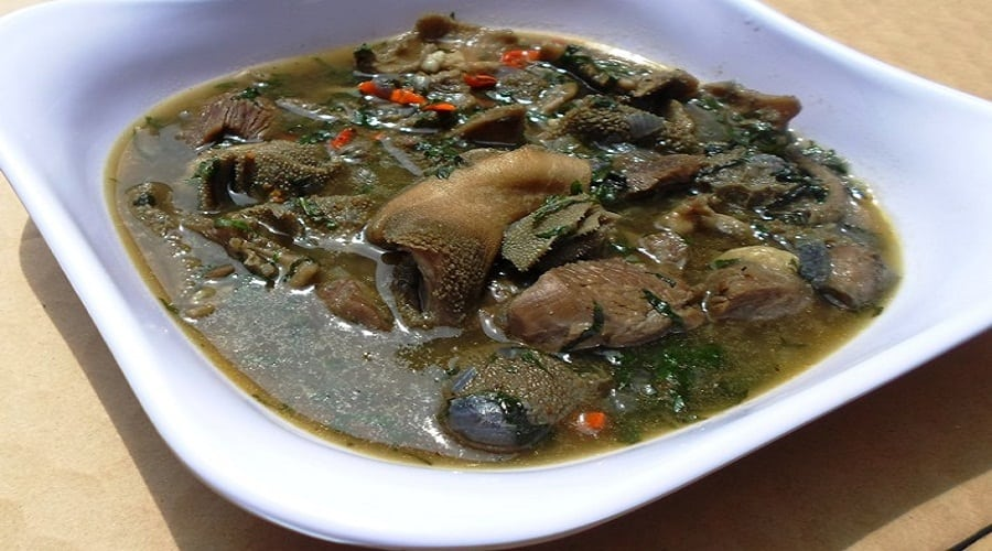 Assorted Meat Pepper Soup