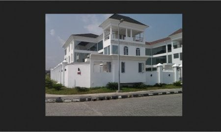 Linda Ikeji Mansion in Banana Island