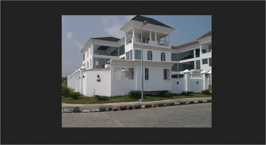 The Linda Ikeji Mansion in Banana Island