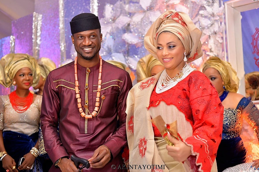Lola Omotayo and Peter Psquare