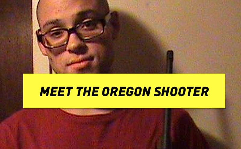 The Oregon College Shooter, Chris Harper-Marcer | RepublicBuzz
