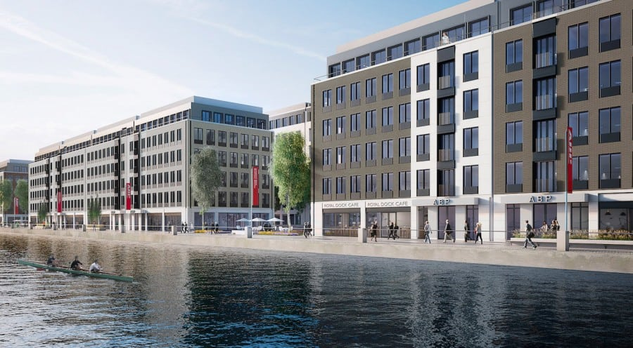 Asia Business Park in Royal Albert Dock, London | Constative via ABP