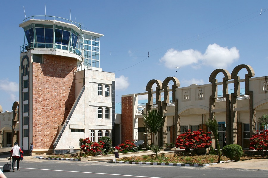 The Axum Airport terminal building | Photo credit: Wikipedia.org