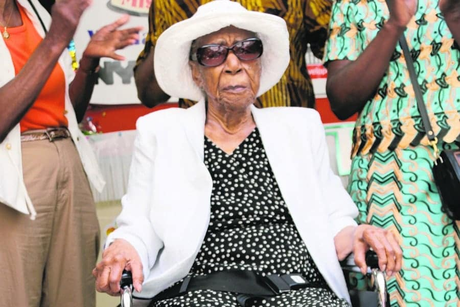 Susannah Mushatt Jones, the world oldest person alive|Photo credit: sites.psu.edu