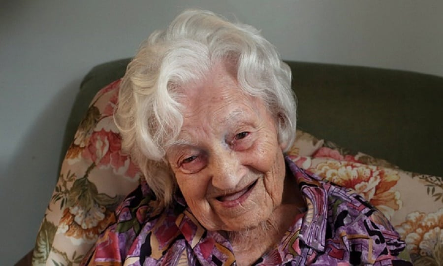 Gadys Hooper, UK oldest woman|Photo credit:theguardian.com