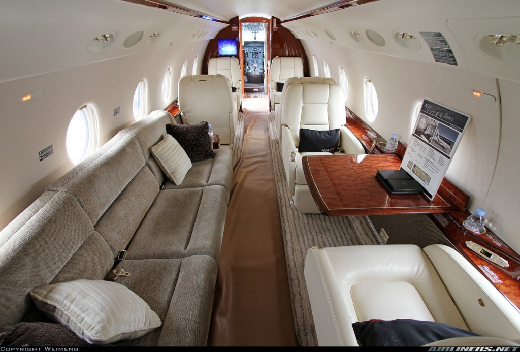 Inside Cristiano Ronaldo 19m Gulfstream G200 Private Jet