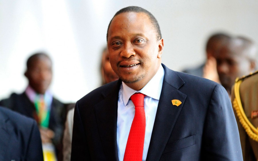 Kenya's President Uhuru Kenyatta. He is one of the richest person in Kenya | Photo credit: Reuters