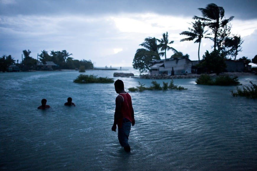 Kiribati are indeed having it really hard with the climate change.|Photo: cirijazbec.com