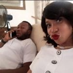 Tonto Dikeh and her husband Olakunle Churchill