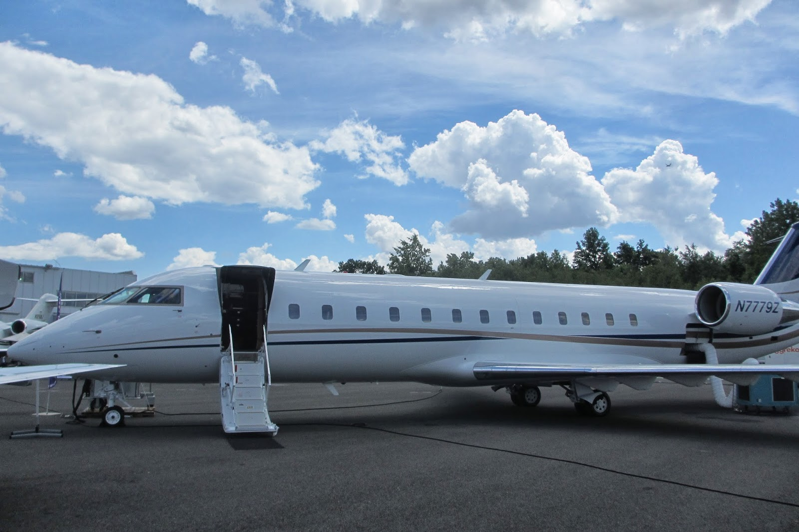 One of the Tinubu's private jet, Bombardier Challenger worth $60Million