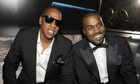 Jay Z and Kanye West hanging out as best friends, they are among the richest rappers in the world.