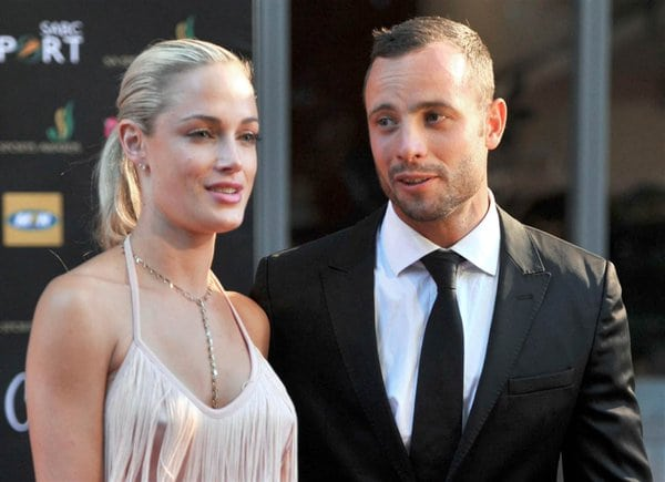 Oscar Pistorius and his late girlfriend whom he mudered