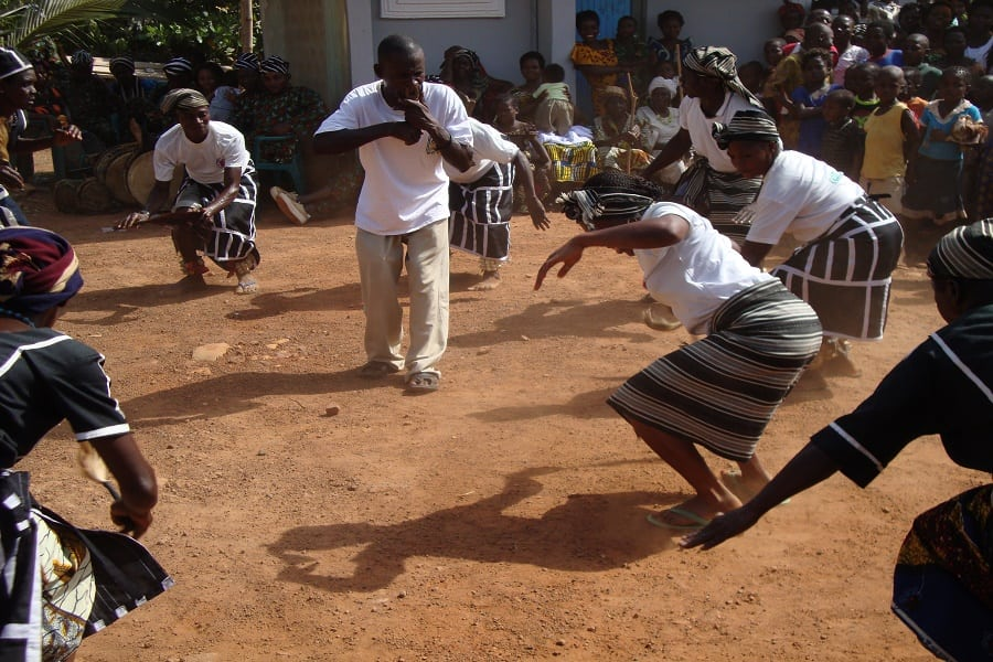 Tiv Benue cultural dance during a traditional marriage ceremony | Photo credit: SAGE-GROVE