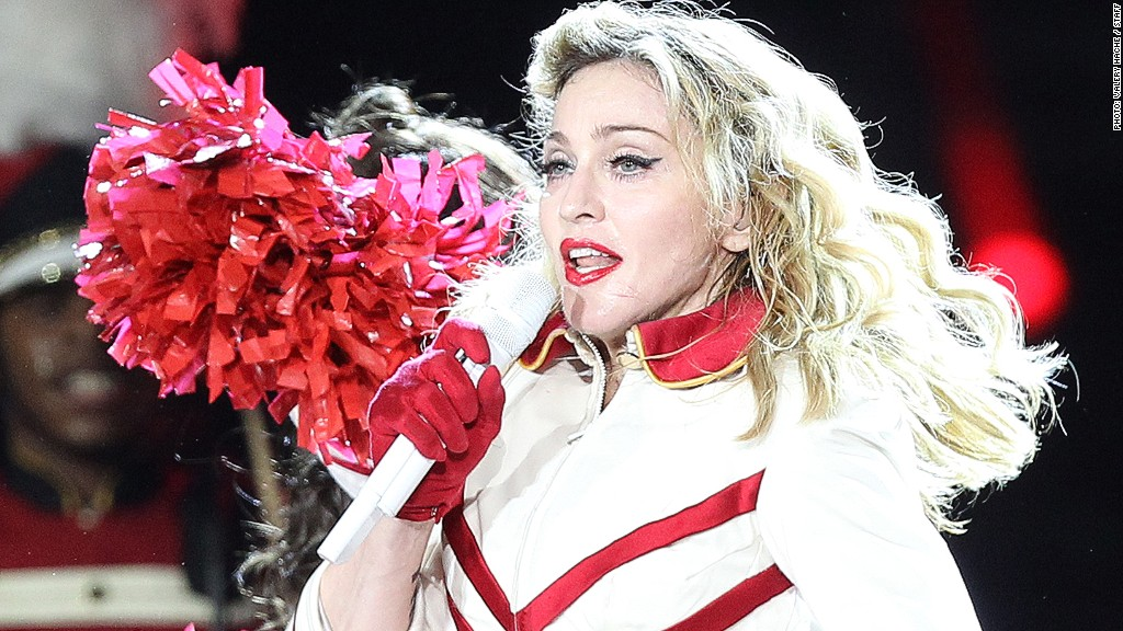 Madonna Net Worth And Biography