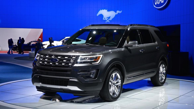 2016 Ford Explorer Platinum @ 2014 LA Auto Show