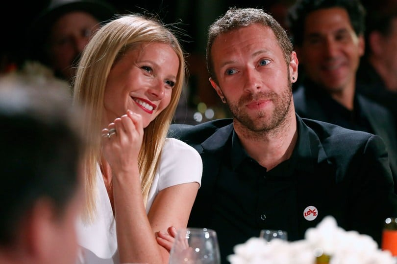 Chris Martin and Gwynet Paltrow | Photo credit: glamourmagazine.co.uk