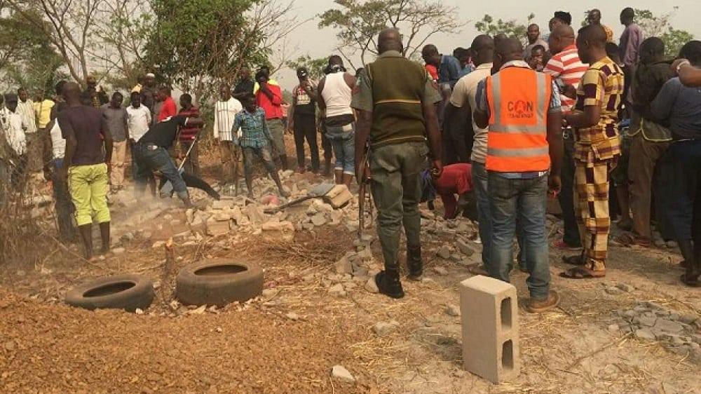 Three dead bodies found in a Enugu church foundation