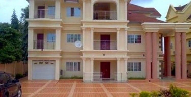 Genevieve Nnaji house