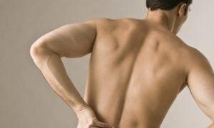 Lower back pain in men