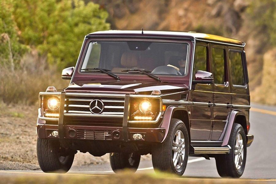 2016 Mercedes Benz G-Wagon