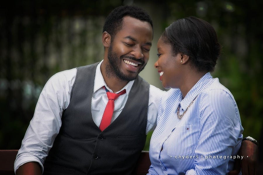 Oc Ukeje and his wife Ibukun Togonu