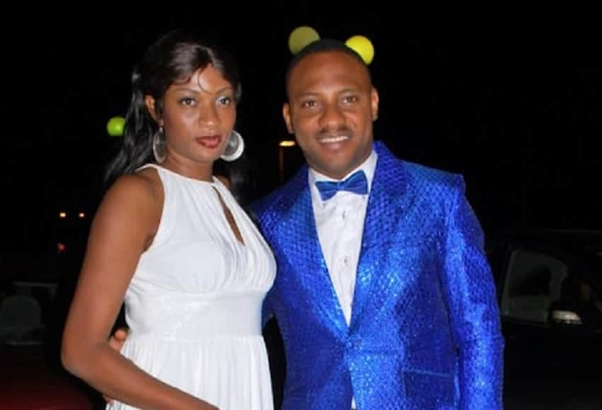 Yul Edochie and his wife May Aligwe