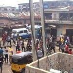 Biafra Protester