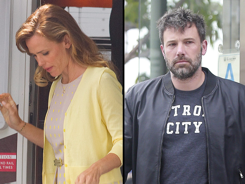 Ben Affleck and Jennifer Garner | Photo people.com