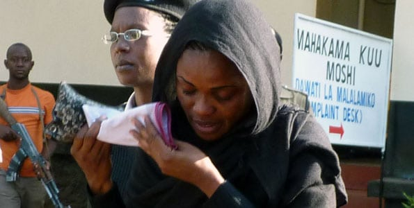 The photo of the Nigerian woman sentenced to life imprisonment in Tanzania