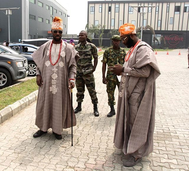 olumofin brothers asked to leave toolz wedding