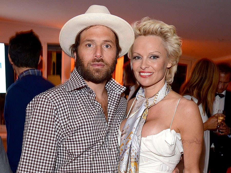 Pamela Anderson and Rick Salomon | Photo credit:people.com