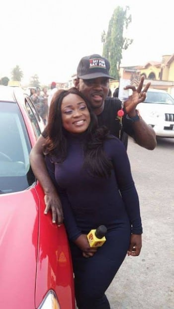 Pasuma buys brand new Toyota Matrix for his daughter Wasilat