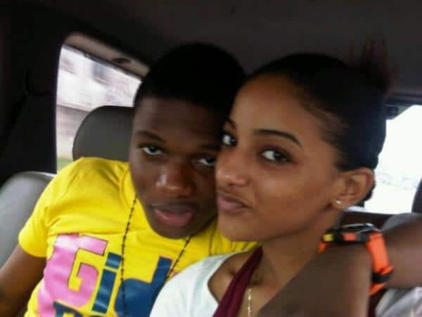 Sophie Rammal and Wizkid in their goodtimes