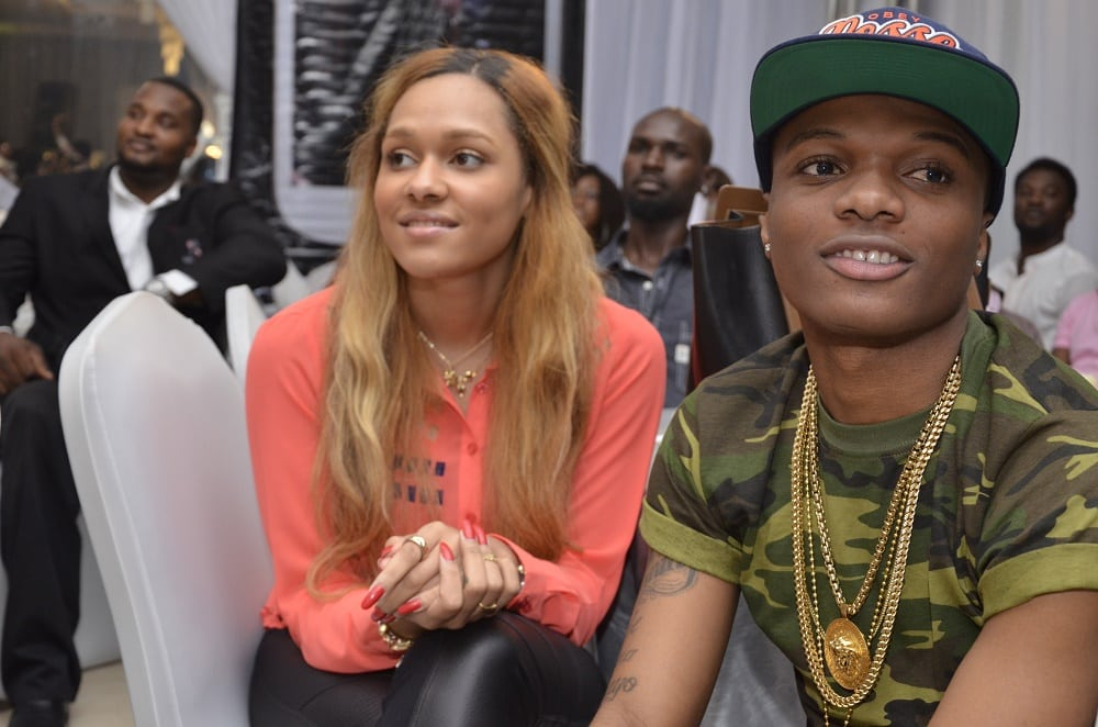 Wizkid and Tania Omotayo