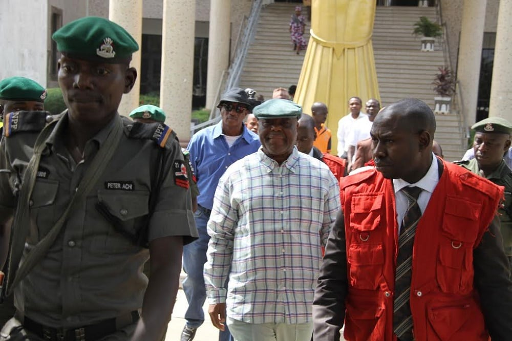 EFCC re-arraigned Dokpesi