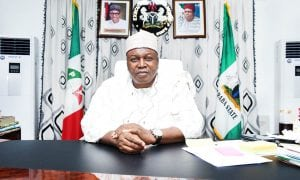 Governor Darius Ishaku